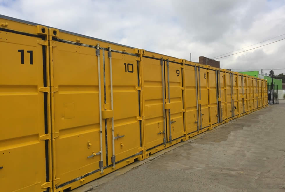 large self storage unit