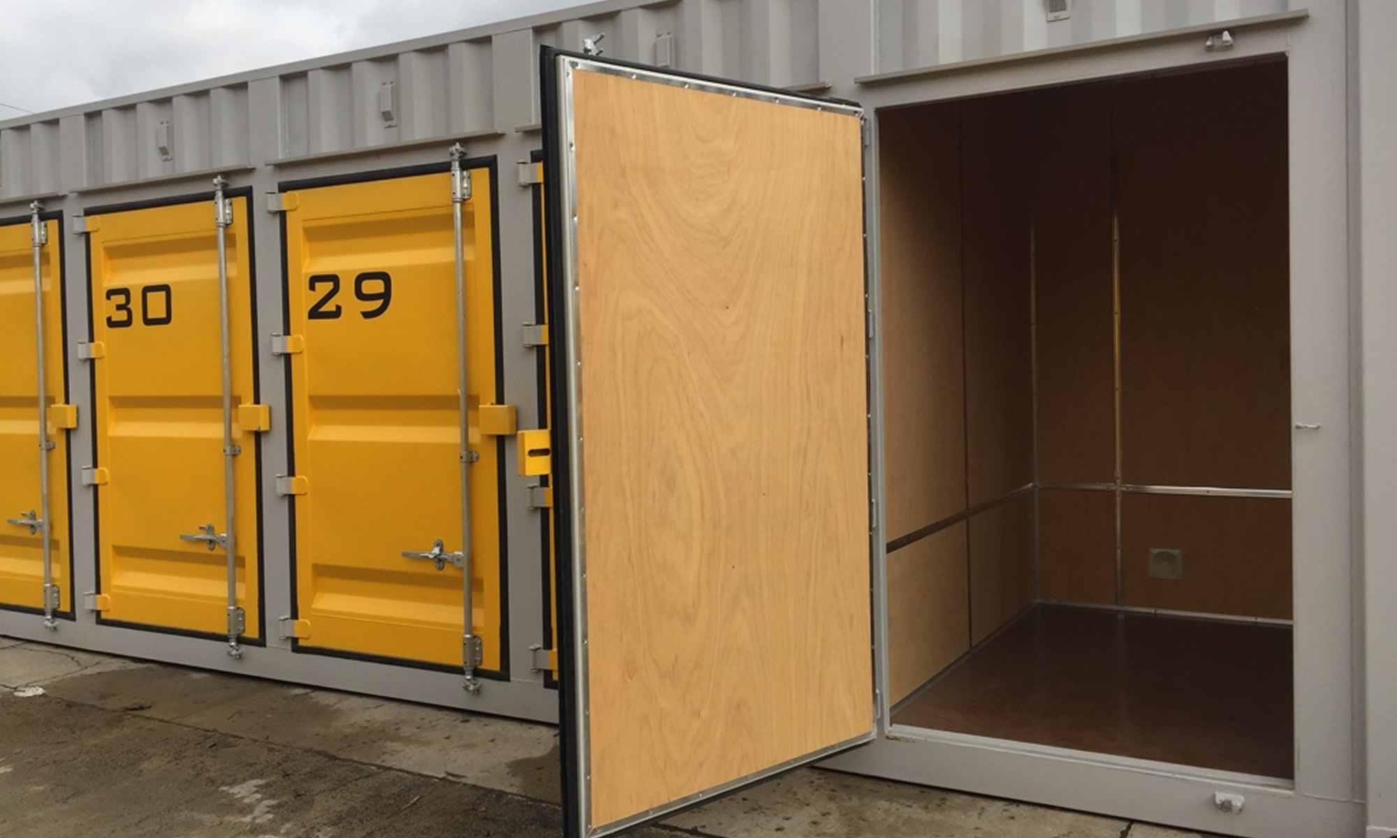 Small Self Storage Unit