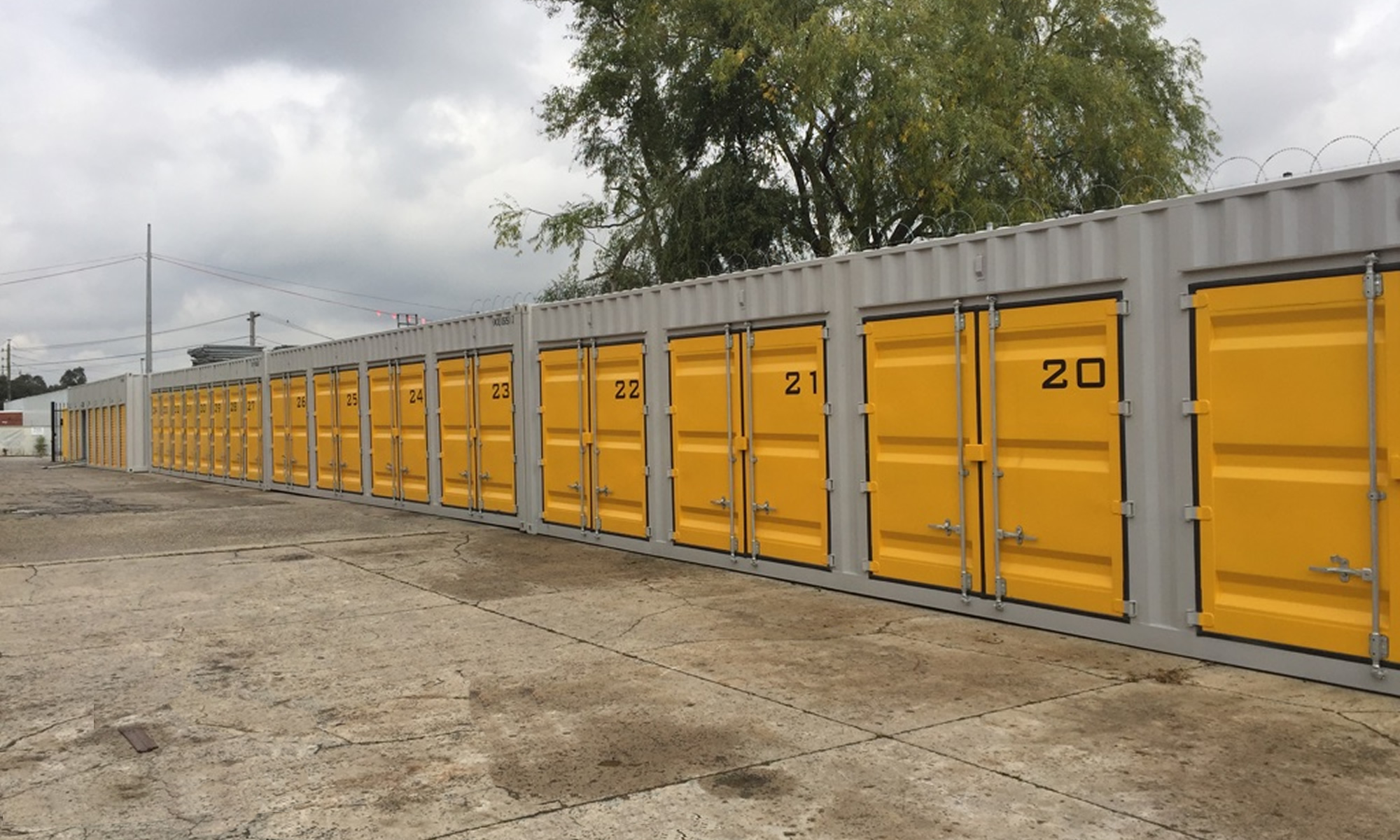 Stroage Containers for hire